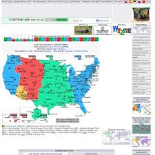 usa time zone map est usa time zones map with current local time 12 hour format pearltrees