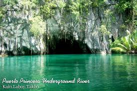 Underground River Map Puerto Princesa Subterranean River National Park In Palawan Top