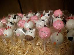 animal cake pops for a farm themed birthday party yelp