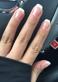 gel french manicure nails pinterest gel french manicure and