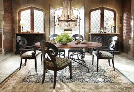 Copper Dining Room Tables Copper Dining Table Traditional Dining Room Cleveland By