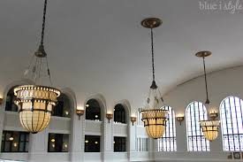 New Chandeliers Denver Style The New U0026 Improved Union Station And The Crawford