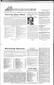 workshop manuals motor sport magazine archive