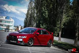 mitsubishi evo red review 2010 mitsubishi lancer evolution x gsr modified mppsociety