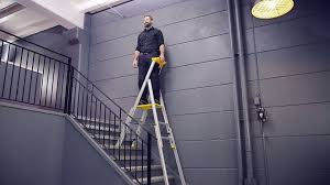 wibe ladders stairwell ladder 77s youtube