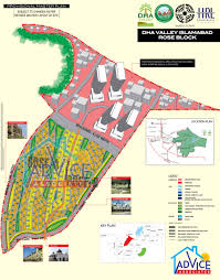 Islamabad Map Dha Valley Islamabad Maps