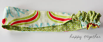 fabric headband sided fabric headband pattern