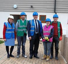 housing minister sees positive impact of self build with shared