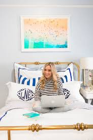 a hamptons inspired nyc bedroom tour the everygirl