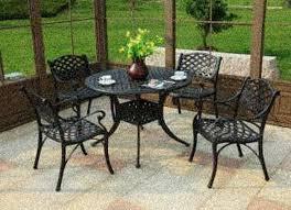 Concrete Patio Table Set Patio Chairs Polished Concrete Outdoor Table Cement Patio Set