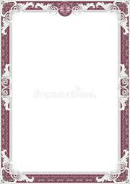 frame for diploma frame for diploma or certificate stock illustration