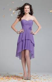 alfred angelo 7234 high low bridesmaid dress french novelty