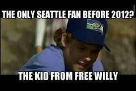 Seahawks Fan Meme - the only seattle fan before 2012 football pinterest seattle
