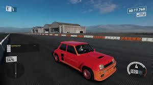 renault 1980 forza motorsport 7 1980 renault 5 turbo mile drag youtube