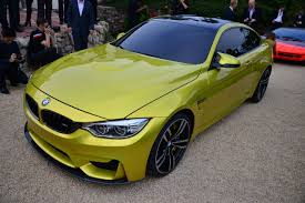 green bmw m4 bmw m4 concept monterey 2013 photo gallery autoblog