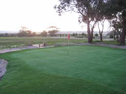 synthetic grass golf green