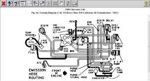1986 chevy truck emissions controls vavuum lines