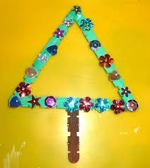 Homemade Ornaments For Christmas by Mom To 2 Posh Lil Divas 5 Homemade Craft Stick Christmas