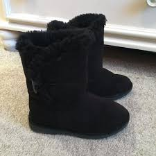 ugg boots sale size 2 find more euc black ugg like boots from fred meyer