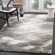 Grey Shaggy Rugs Living Room Gray Shag Rug With Decorating Make Beautiful Room For
