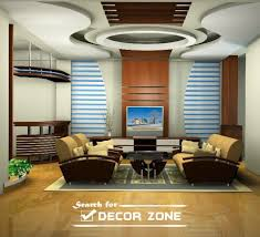 Modern POP False Ceiling Designs For Living Room - Ceiling design for living room