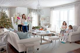sarah richardson u0027s holiday home is a real life winter wonderland