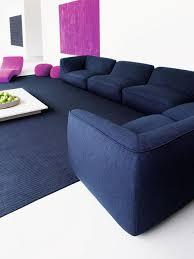 Blue Reclining Sofa by Low Profile Reclining Sofa Houzz
