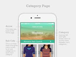 crush surf shop free mobile store template for sketch sketch