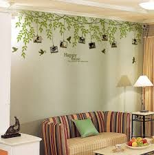 frame tree wall decals birds vinyl decor stickers