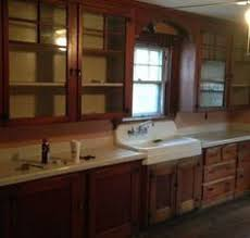 early 1920 u0027s kitchen cabinets and porcelain corner sink long