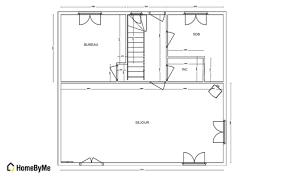 cuisine ouverte sur salon surface plan cuisine ouverte sur salon cliquer pour voir le plan salon