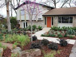 curb apeeal bilevel home home landscaping landscaping ideas for
