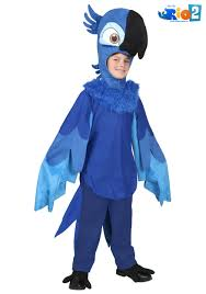 child rio blu costume