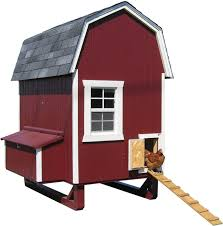 amazon com little cottage company gambrel barn coop 4 u0027x6 u0027 diy