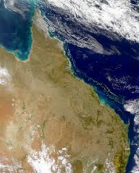 Great Barrier Reef Map Nasa Visible Earth Great Barrier Reef From Seawifs