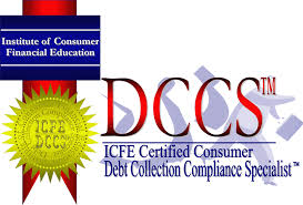 printable version of fdcpa icfe institute of consumer financial education certifications dccs