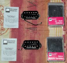 seymour duncan sh 6b duncan distortion bridge black image