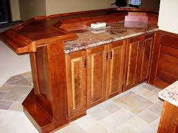 Built In Bar Cabinets Custom Built Home Bar Ideas In Ohio