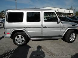 used mercedes g wagon 2011 used mercedes g class 4matic 4dr g550 at palmetto sport