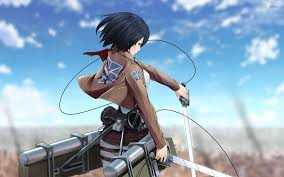 mikasa ackerman attack on titan wallpaper anime wallpapers