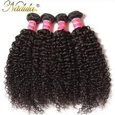 human hair extension aliexpress buy nadula hair curly hair weave 100