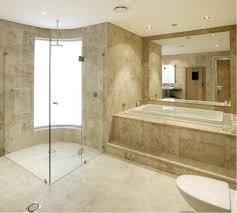 white carrara marble bathroom corner white whirpool shower with