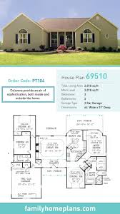2 Bedroom Floor Plans Ranch by 66 Best Ranch Style Home Plans Images On Pinterest Ranch House