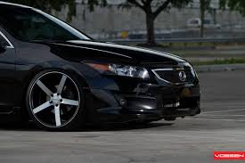 honda accord tuned vossen wheels honda accord vossen cv3r