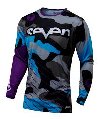 sinisalo motocross gear crosströja seven annex soldier jersey purple barn jr crosströjor