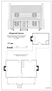 Plan Of House by Phillip Fitzgerald House