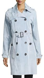 light blue trench coat hugo boss light blue unique stylish lovely color trench coat size 2