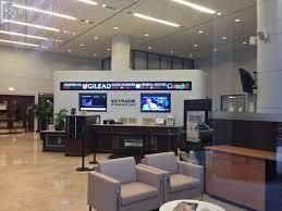 general motors headquarters interior financial guide digital signage federation