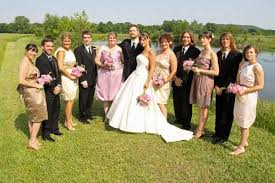 wedding party attire sustainable wedding dress bridesmaids dresses suits
