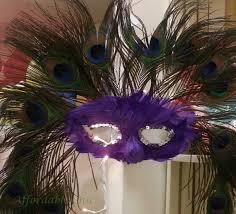 peacock mardi gras mask mardi gras masks affordable chic